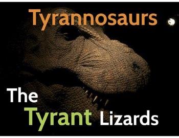 "Dinosaurs: Tyrannosaurs - ""The Tyrant Lizards"" (Prezi)"