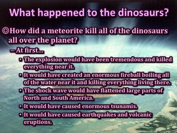Dinosaurs - PowerPoint & Activities
