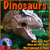 Dinosaurs - PowerPoint & Activities