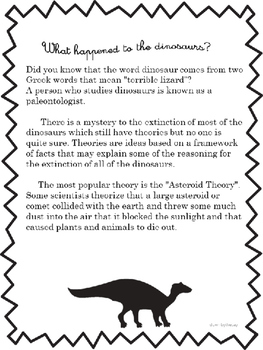 Dinosaurs-What happened to them?