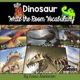 Dinosaurs Write the Room Vocabulary