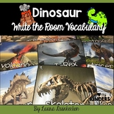 Dinosaurs Write the Room Vocabulary
