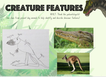 Dinosaurs and More - Powerpoint to accompany Primary Connections unit