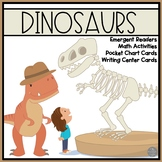 Dinosaurs and Paleontologists Emergent Readers with Center Activities
