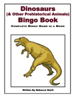 Dinosaurs and Prehistoric Animals Bingo Book