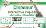 Dinosaurs and Prehistoric Creatures Interactive Research Pop-Ems