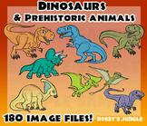 Dinosaurs and Prehistoric animals MEGA set