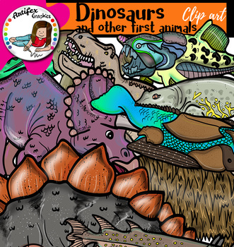 Dinosaurs and other first animals 1