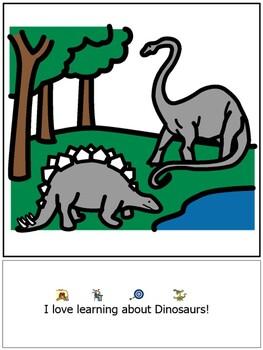 Dinosaurs book using EET model