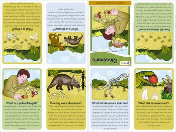 Dinosaurs - mini book