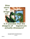 Dinosaurs or Dragons Mini-Q