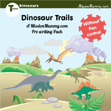 Dinosaurs preschool pack - without pen control