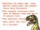 Dinoscaur Information Powerpoint