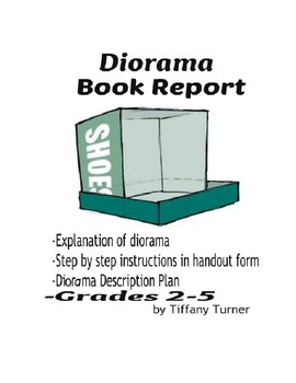 Diorama Book Report