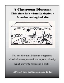 Diorama   Ecological Site - Favorite Book - Historical Events