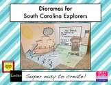 Dioramas for South Carolina Explorers