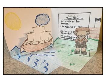 Dioramas for South Carolina Explorers