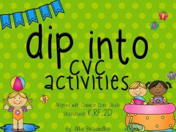Dip into CVC Activities