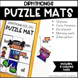 Diphthong Activities | Puzzle Mats
