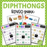 Diphthong BINGO Game (au, ew, aw, oo, oi, ou, oy, ow)