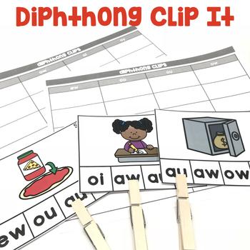 Diphthongs Clip It