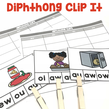Diphthongs Clip It