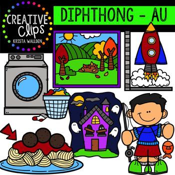 Diphthong Clipart: AU {Creative Clips Digital Clipart}
