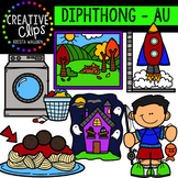 Diphthong Clipart: AU {Creative Clips Digital Clipart}