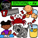 Diphthong Clipart: AW {Creative Clips Digital Clipart}