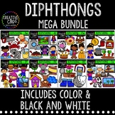Diphthong Clipart Bundle {Creative Clips Clipart}