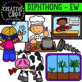 Diphthong Clipart: EW {Creative Clips Digital Clipart}