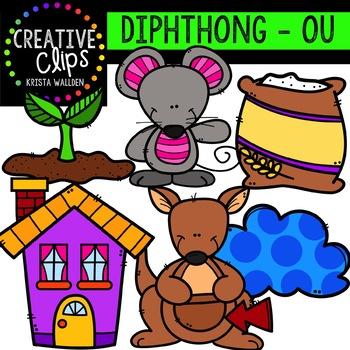 Diphthong Clipart: OU {Creative Clips Digital Clipart}