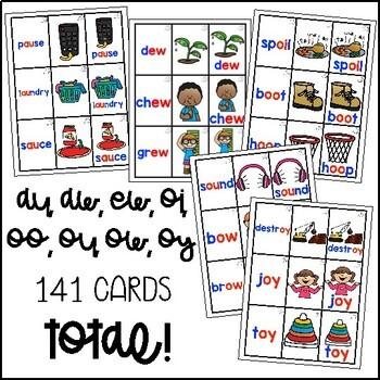 Diphthong Flashcards