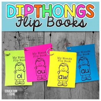 Diphthong Flip Books