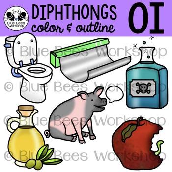 Diphthong OI Clip Art