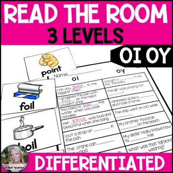 Diphthong Oi and Oy Differentiated Read the Room