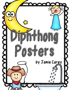 Diphthong Posters