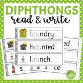 Diphthong Read and Write  (au, ew, aw, oo, oi, ou, oy, ow)
