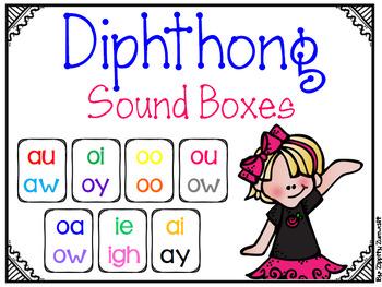 Diphthong Sound Boxes