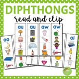 Diphthong Strips (au, ew, aw, oo, oi, ou, oy, ow)