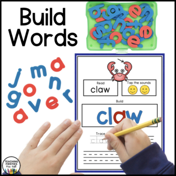 Diphthong, Variant Vowels, and Soft c/g Activities for Seesaw