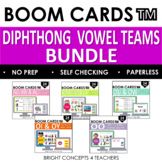 Diphthong Vowel Teams BOOM Card BUNDLE / Digital Task Cards