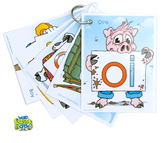 Diphthong Word Buddy Crew Tag Pack (OI, OU, OW, OY)