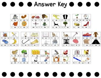 Word Building Cards [Vowel Teams]