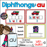 Diphthong: au BOOM Cards™ * Distance Learning *
