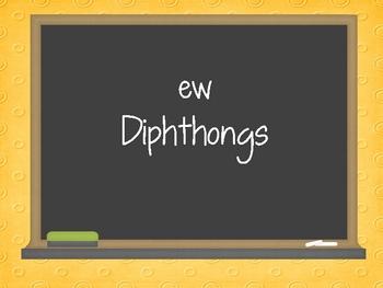 Diphthong - ew