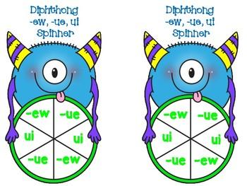Diphthong -ew, -ue, ui Game