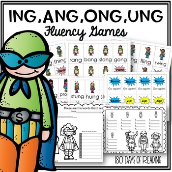Diphthong NG Game for Fluency