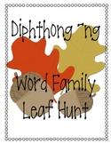 Diphthong ng Leaf Find Activity