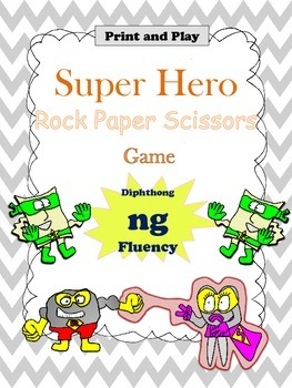 Diphthong ng Rock Paper Scissors Game for Fluency